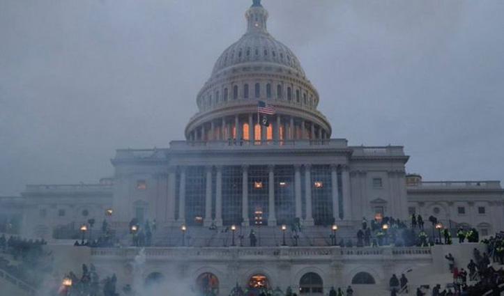 #America में ट्रंप समर्थकों का बवालः वाशिंगटन डीसी में कर्फ्यू , ट्रंप का ट्विटर अकाउंट सस्पेंड