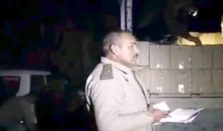 Bilaspur में Truck से 450 पेटी शराब बरामद, सेल फॉर चंडीगढ़ था अंकित