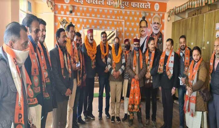 #Himachal बीजेपी किसान मोर्चा 25 से छेड़ेगा महाजनसंपर्क अभियान, समिति बनाई