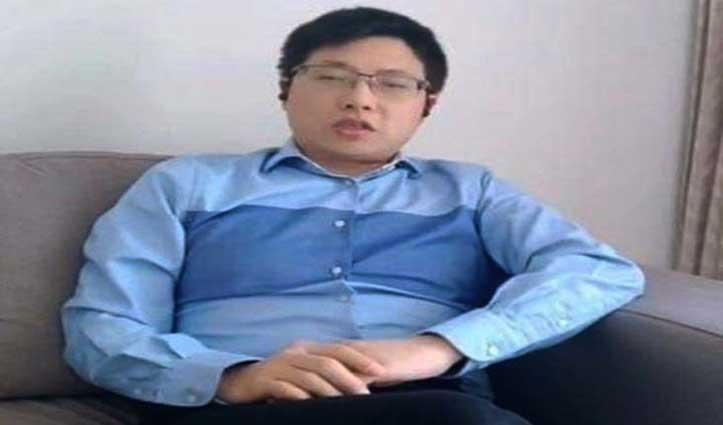 #दलाई लामा की जासूसी करने वाला हवाला कारोबारी एक अन्य चीनी नागरिक सहित गिरफ्तार