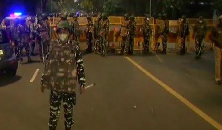 #DelhiBlast : इजरायली दूतावास के पास धमाका, मौके पर पहुंची NIA की टीम