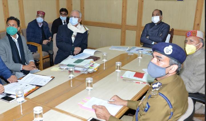 Himachal: चार जिलों में बन रहे पांच हेलीपोर्ट, CM Jai Ram ने निर्माण कार्य में तेजी लाने के दिए निर्देश
