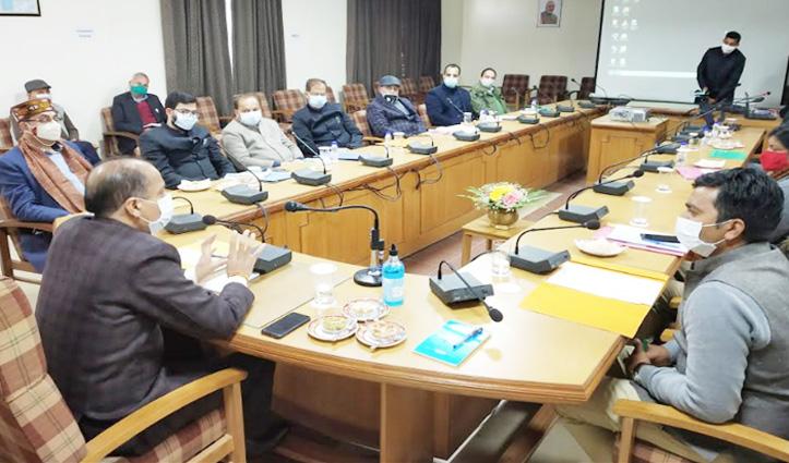 जयराम ठाकुर बोले: #Birdflu के संक्रमण को फैलने से रोकने के लिए विभाग मिलकर करें कार्य