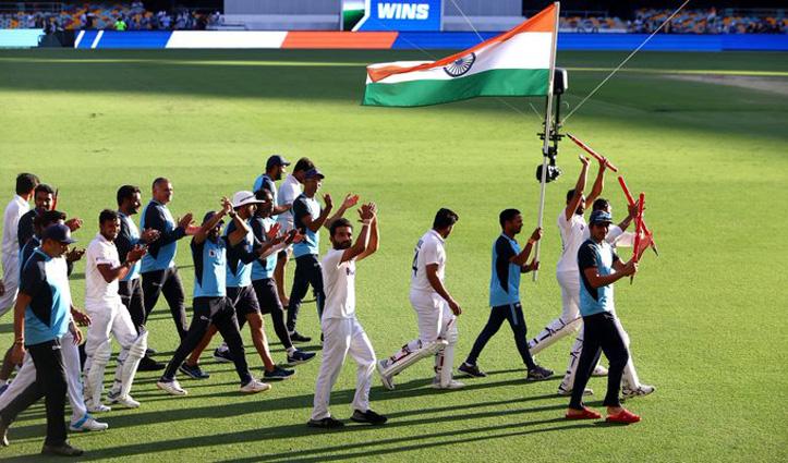 #AUSvsIND ब्रिसबेन में 33 साल बाद Australia को 'पेन', भारत ने 2-1 से जीती सीरीज