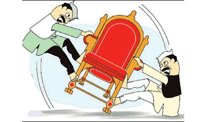 Una: नगर परिषद संतोषगढ़ में उपाध्यक्ष पद के लिए चले लात-घूंसे व कुर्सियां