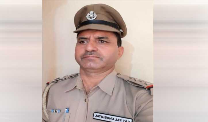 कांगड़ा: PTC डरोह के उप निरीक्षक सतपाल को कल मिलेगा पुलिस मेडल