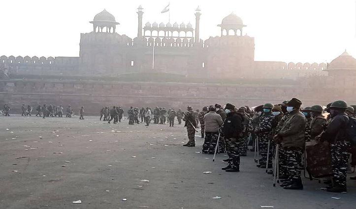 #Delhi_violence:किसान नेताओं के खिलाफ जारी होगा लुकआउट नोटिस,  पासपोर्ट भी जब्त होंगे
