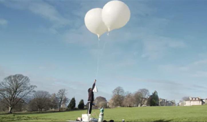 भारतीय नीरज गधेर ने गुब्बारे से अंतरिक्ष में भेजा समोसा, पहुंच गया फ्रांस में