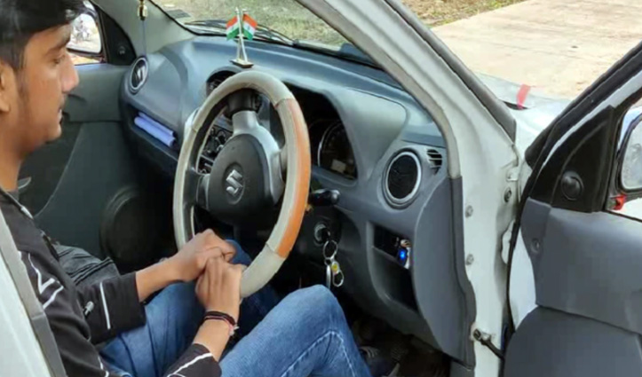 इस 16 साल के लड़के बनाई तकनीक, फिंगर प्रिंट से ही स्टार्ट हो सकेगी कार