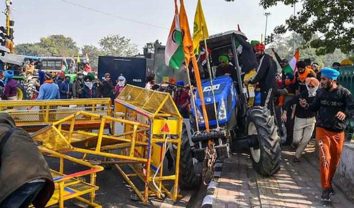 #TractorRally के दौरान एक प्रदर्शनकारी की मौत, सीमाओं पर तैनात होंगी 15CRPF कंपनियां