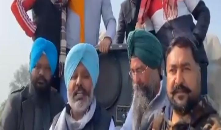 #TractorRally : Punjab AAP MLA भी ट्रैक्टर से दिल्ली के लिए हुए रवाना, शंभू बॉर्डर जाएंगे राजधानी