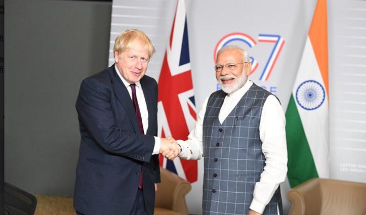 G-7 के लिए PM Modi को ब्रिटेन का न्योता, सम्मेलन से पहले भारत आएंगे Boris Johnson