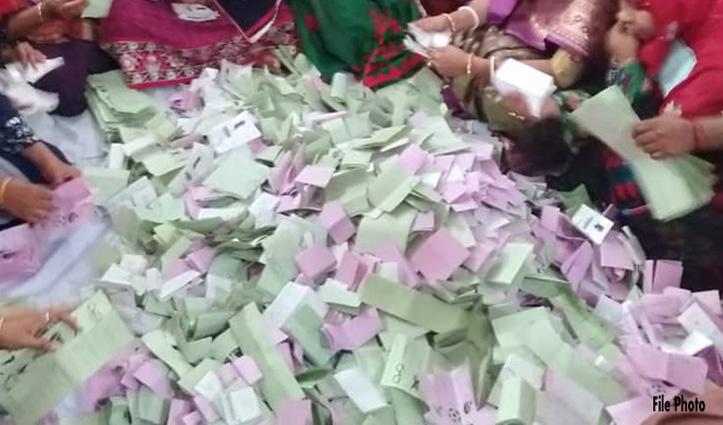 Panchayat Pradhan के बाद अब हलेड़कलां जिला परिषद मतगणना में विवाद, री-काउंटिंग शुरू
