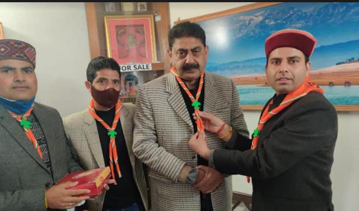 हिंदुस्तान स्काउट एंड गाइड के प्रदेशाध्यक्ष बने खेल मंत्री Rakesh Pathania