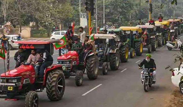 #TractorParade से हुई इंडस्ट्री की चांदी, दो माह में बिके छह हजार ट्रैक्टर; 15 फीसदी का इजाफा