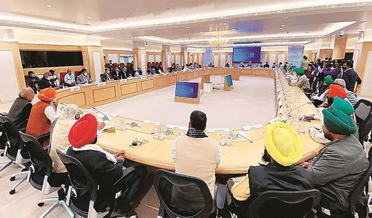 किसान और सरकार के बीच 9वें दौर की वार्ता भी बेनतीजा, अगली बैठक 19 January को