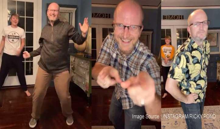 अमेरिका वाले मशहूर बाप-बेटे इंडियन गानों पर फिर नाचे, Video देखकर कदम संभालना