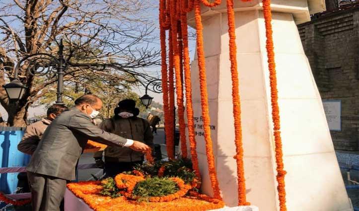महात्मा गांधी की पुण्यतिथि पर बोले जयराम-कोई और ही स्वरुप ले चुका है अब किसान आंदोलन
