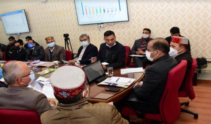 सीएम जयराम ने दिए निर्देश- जनसमस्याओं को प्राथमिकता के आधार पर हल करें अधिकारी