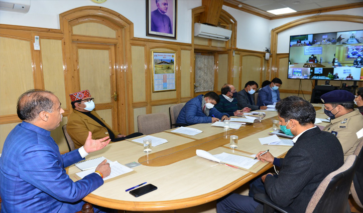 CM directs DC's to organise Statehood Day function at district and sub-division level