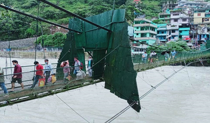 #India_Nepal : अंतरराष्ट्रीय झूला पुलों से गुजरने के लिए बनाना होगा पास