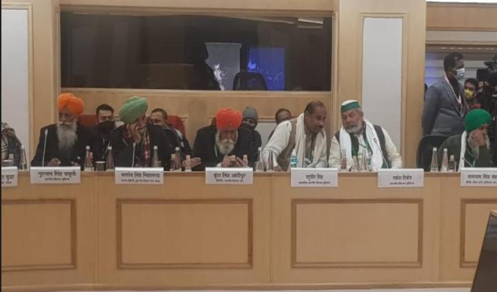 किसान संगठन व सरकार के बीच 11वें दौर की बैठक भी बेनतीजा, अगली तारीख तय नहीं