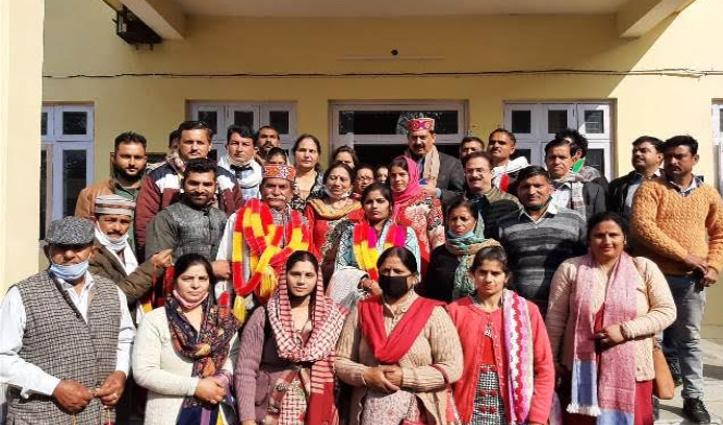 नूरपुर BDC में BJP सत्तासीन, कुसुम चेयरमैन तो रछपाल चुने वाइस चेयरमैन