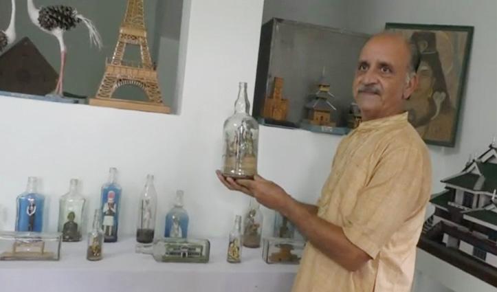 हिमाचल का ऐसा है पद्मश्री, बांस से कलाकृतियां बनाने वाले Kartar Sokhale को मिला सम्मान