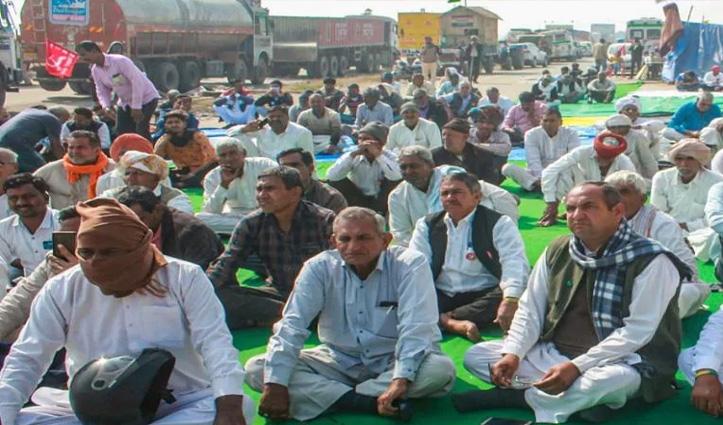 आज सद्भावना दिवस मना रहे किसान, दिनभर रहेंगे उपवास पर-पंजाब-हरियाणा से दिल्ली कूच