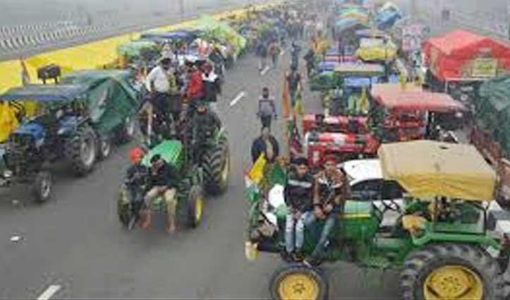 370 किलोमीटर लंबी होगी #TractorRally, इन-इन जगहों से निकलेगी किसानों की #TractorPrade