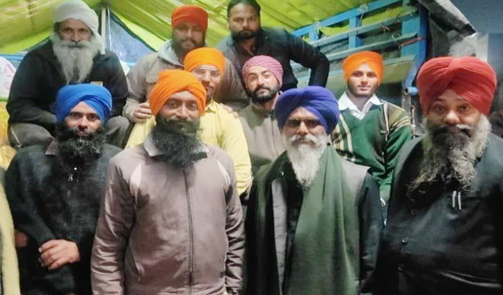 किसान आंदोलन के लिए 47 क्विंटल राशन लेकर गाजीपुर बॉर्डर रवाना हुए किसान
