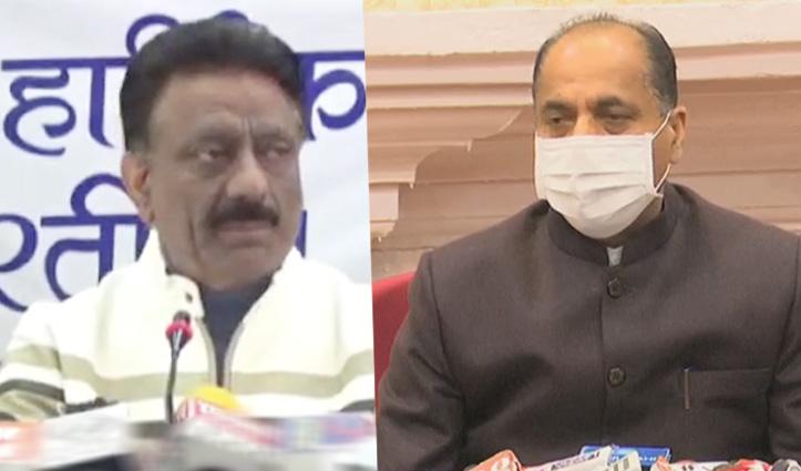 Rathore की चुनौती: पार्टी सिंबल पर करवाओ नगर निगम चुनाव, Jai Ram ने दिया यह जवाब
