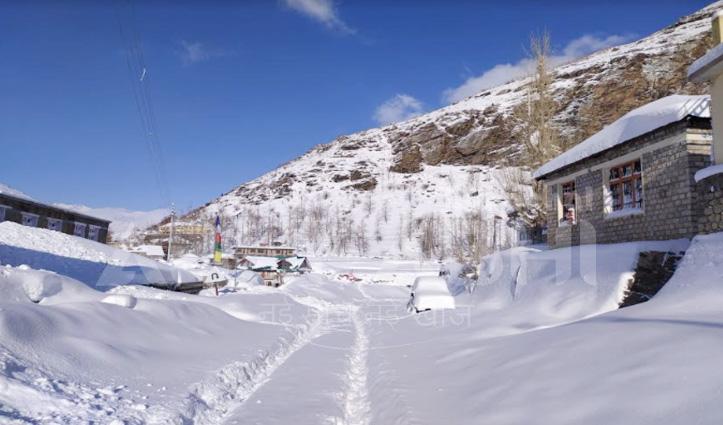 बिगड़ा मौसमः पहाड़ों पर बिछ गई बर्फ की चादर, शीतलहर की चपेट में हिमाचल