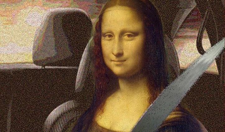 Monalisa को सीट बेल्ट तो पहना दी लेकिन Mask पर उठे सवाल, रोचक है मामला