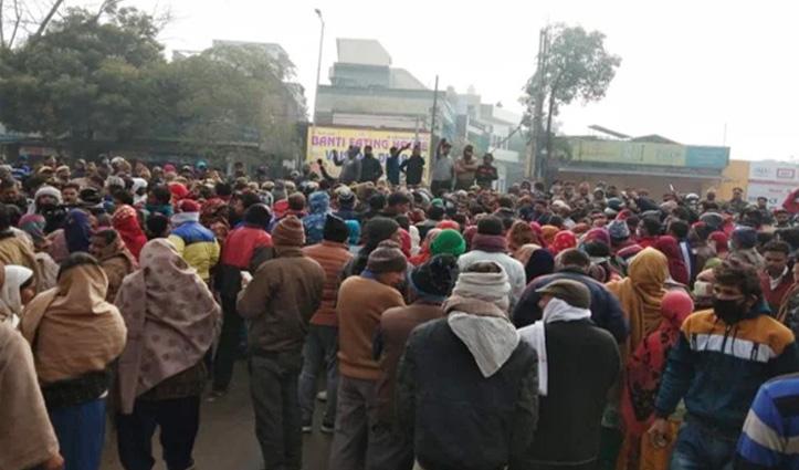 मुरादनगर श्मशानघाट हादसाः  ईओ सहित 3 अधिकारी Arrest,गुस्साए परिजनों ने किया हाईवे जाम