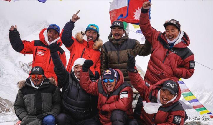 दुनिया की दूसरी ऊंची चोटी यूं फतेह, देखें Video - नेपाली पर्वतारोहियों ने कैसे रचा इतिहास