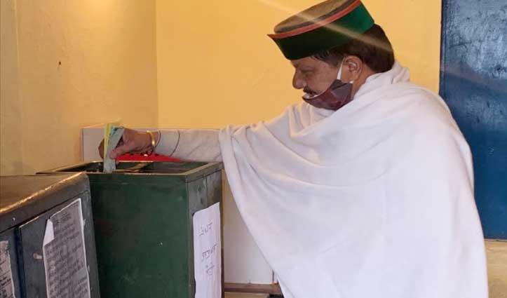 राणा का वोट