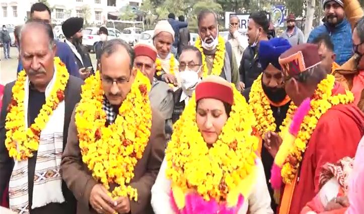 जिला परिषद ऊना पर BJP का कब्जा, रायजादा बोले: प्रशासन बीजेपी की बी टीम