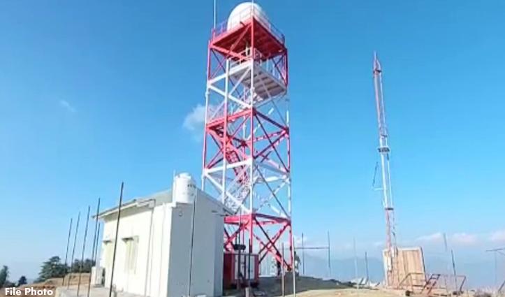 मौसम की मिलेगी सटीक जानकारी, कुफरी में प्रदेश का पहला Doppler Weather Radar स्थापित