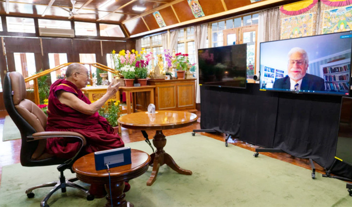 US Special Coordinator for Tibetan Issues virtual audience with the Dalai Lama