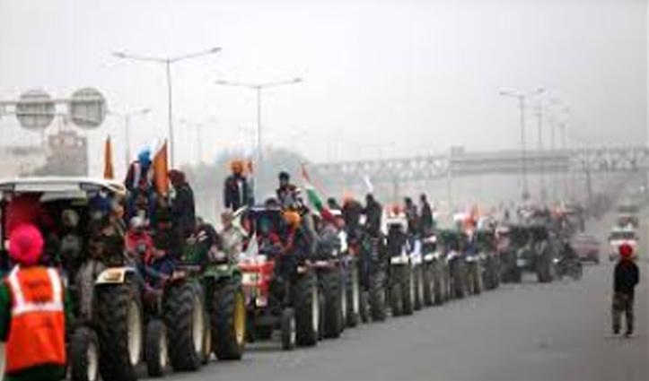#FarmersProtest : गणतंत्र दिवस पर ट्रैक्टर रैली को लेकर अड़े किसानों ने नहीं मानी Delhi Police की बात