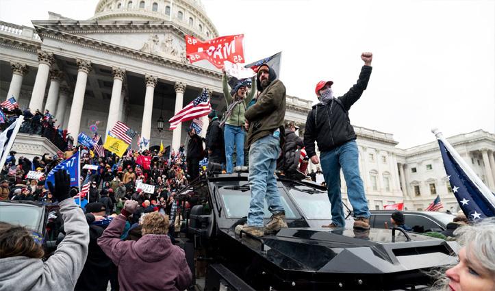 अमेरिकी हिंसा : 4 की मौत, 52 प्रदर्शनकारी Arrest, ओबामा-मोदी ने की घटना की निंदा