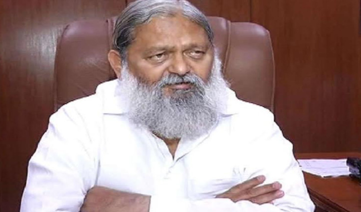 हरियाणा के गृह मंत्री अनिल विज के भाई के साथ विवाद के बाद DIG Ashok Kumar सस्पेंड