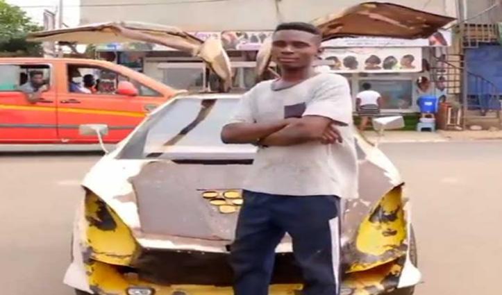 ये है अफ्रीका का Elon Musk, बिना किसी डिग्री के 18 की उम्र में कबाड़ से बना दी धांसू कार