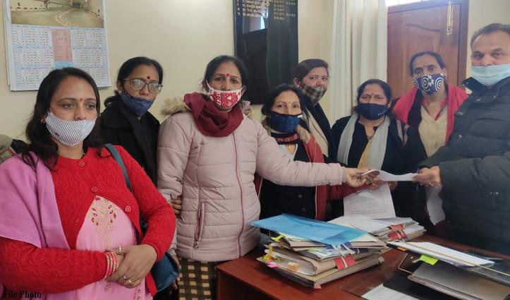 Himachal : प्री प्राइमरी कक्षाओं में आंगनबाड़ी वर्कर्स की नहीं हुई तैनाती तो विस का होगा घेराव