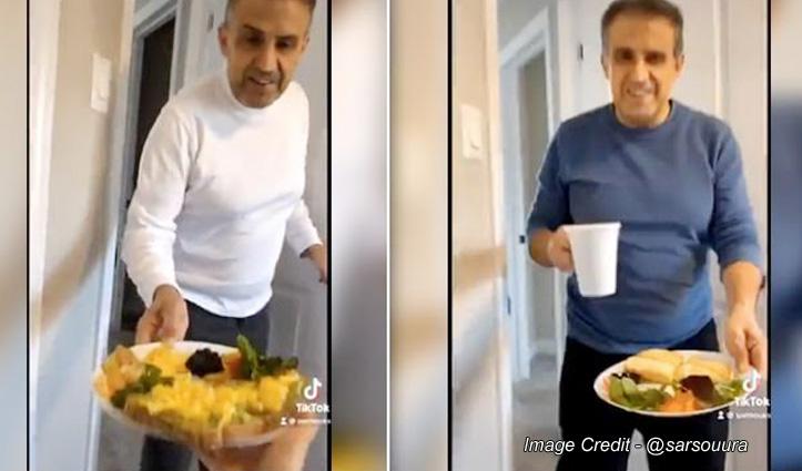 वीडियो : Work From Home कर रही थी बेटी तो पिता ने हर रोज बनाकर खिलाई नई-नई डिश