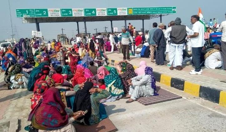 #Haryana : इंटरनेट सर्विस शुरू ना करने पर ग्रामीणों ने किया चक्का जाम, सात जिलों में बंद है Internet