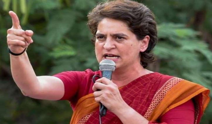सहारनपुर किसान महापंचायत : 56 इंच के सीने में छोटा सा दिल जो उद्योगपतियों के लिए धड़कता है : Priyanka Gandhi Vadra
