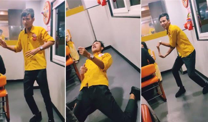 Tiger Shroff के गाने पर वेटर ने किया जबरदस्त डांस, Viral हो रहा वीडियो