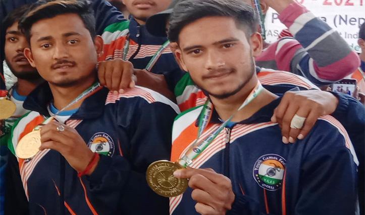 आनी के अंद्रेज़ ठाकुर व डालम राम ने कबड्डी में भारतीय टीम को  दिलाया मेडल